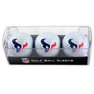 Houston Texans Golf Balls - 3 pc sleeve