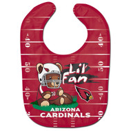 Arizona Cardinals Teddy Bear All Pro Baby Bib
