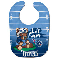 Tennessee Titans Teddy Bear All Pro Baby Bib