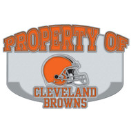 Cleveland Browns Property Of Cloisonne Pin