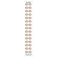 Chicago Bears Nail Sticker Decals (2 Pack)