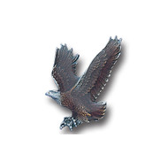 Free Form Eagle Lapel Pin