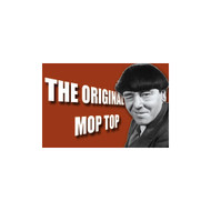 The Three Stooges Original Mop Top Refrigerator Magnet
