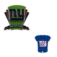 New York Giants Logo Field Pin and Jersey Pin