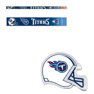 Tennessee Titans Six (6) Erasers and Six (6) Pencils
