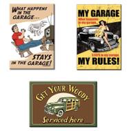 Bundle - 3 Items: Garage Magnets