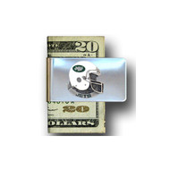 New York Jets Pewter Emblem Money Clip