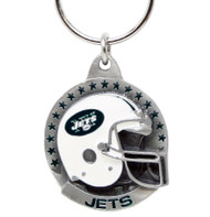 New York Jets Pewter Keychain