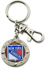 New York Rangers Impact Keychain