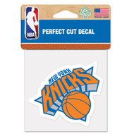 "New York Knicks 4""x4"" Team Logo Decal"
