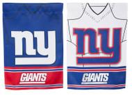 New York Giants Jersey Garden Flag