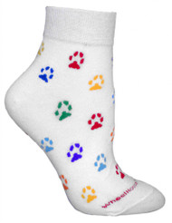 Cat Paws Cotton Ladies Anklet Socks