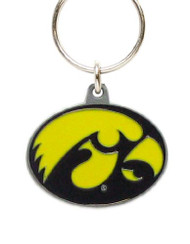 University of Iowa Pewter Keychain NCAA