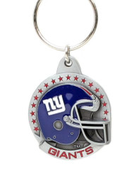 New York Giants Pewter Keychain