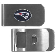 New England Patriots Money Clip Bottle Opener