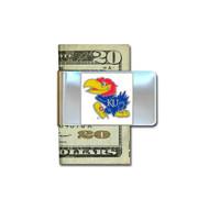 University of Kansas Money Clip NCAA