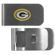 Green Bay Packers Money Clip Bottle Opener