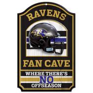 Baltimore Ravens Wooden Sign