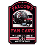 Atlanta Falcons Wooden Sign