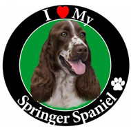 I Love My Springer Spaniel Magnet
