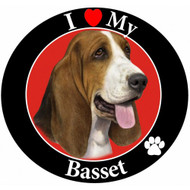I Love My Basset Hound Magnet