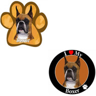 Bundle: Two (2) Cropped Boxer Magnets