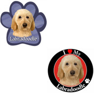 Bundle: Two (2) Labradoodle Magnets