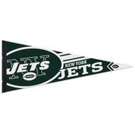 """New York Jets 12""""x30"""" Premium Logo Felt Pennant"""