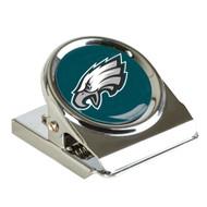 Philadelphia Eagles Metal Magnet Clip