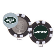 New York Jets Poker Chip Golf Ball Marker