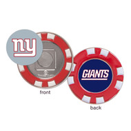 New York Giants Poker Chip Golf Ball Marker