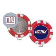 New York Giants Poker Chip Golf Ball Marker