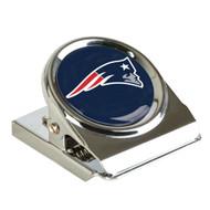 New England Patriots Metal Magnet Clip