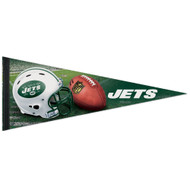 "New York Jets 12""x30"" Premium Field Felt Pennant"