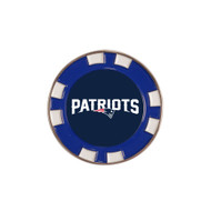 New England Patriots Poker Chip Golf Ball Marker