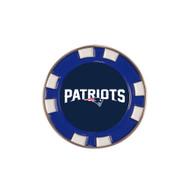 New England Patriots Poker Chip Golf Ball Marker