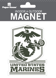 U.S. Marines Indoor Outdoor Die-Cut Magnet