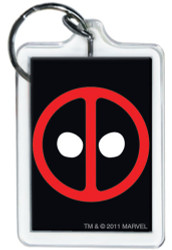 Marvel Comics Deadpool Logo Keychain