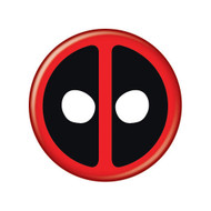 "Deadpool Logo 3"" Button"