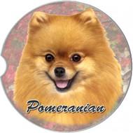 Pomeranian Absorbent Car Cup Coaster