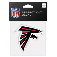 "Atlanta Falcons 4""x4"" Team Logo Decal"