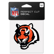 "Cincinnati Bengals 4""x4"" Team Logo Decal"