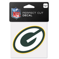 """Green Bay Packers 4""""x4"""" Team Logo Decal"""