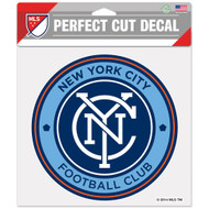 "New York City FC 8""x8"" Logo Decal"