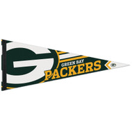 "Green Bay Packers 12""x30"" Premium Field Felt Pennant"
