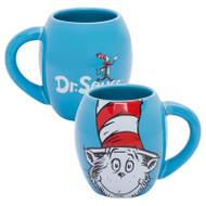 Dr. Seuss Cat in the Hat 18 oz. Oval Ceramic Mug