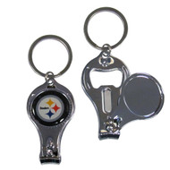 Pittsburgh Steelers 3 in 1 Keychain