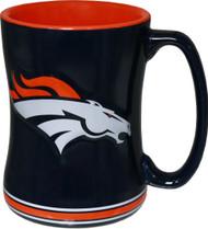 Denver Broncos Relief Coffee Mug