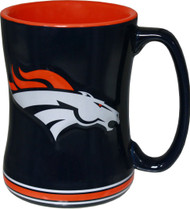 Denver Broncos Relief Coffee Mug