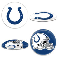 Indianapolis Colts Sport Dotts Glass Magnets (2-Pack)